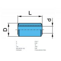 Сайлентблок полурессоры 30x60x102 (пр-во BPW)