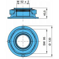 Гайка М52x2x120x40,5 SW95 ступицы (пр-во BPW)