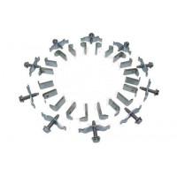 Монтажный крепление диска тормозного DAF CF65, 75, 85, LF55, XF95, 105 комплект (пр-во CEI)