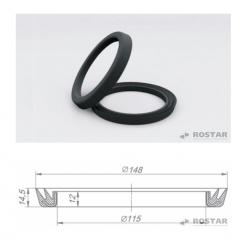 Кольцо КАМАЗ башмака балансира уплотнительное (пр-во Ростар)