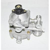 Клапан ЗИЛ, КАМАЗ, МАЗ двухпроводный управления тормозами прицепа с клапаном обрыва (пр-во БелОМО)