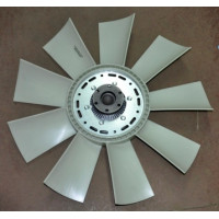 Вентилятор КАМАЗ-ЕВРО 710мм с вискомуфтой в сборе (до 2007 г.) (пр-во Borg Warner)