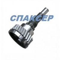 Вал первичный КПП-154 КАМАЗ с зубчатой муфтой (пр-во КамАЗ)