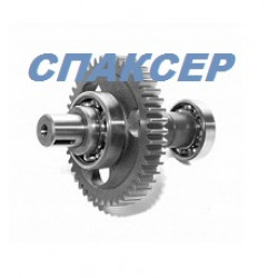 Шестерня ведомая привода ТНВД КАМАЗ ЕВРО-2,3 (подшипник 206+306) D=30 (пр-во КамАЗ)