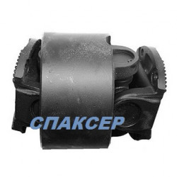 Вал карданный КАМАЗ-65111 от РК к КПП (4 отверстия торцевые шлицы) L=240мм (пр-во КамАЗ)