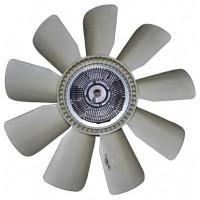 Вентилятор КАМАЗ-ЕВРО 660мм с вязкостной муфтой в сборе (дв.740.30.31 до 2007 г.) (пр-во Borg Warner)