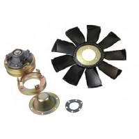 Муфта КАМАЗ-ЕВРО-2 электромагнитная вентилятора (пр-во КамАЗ)