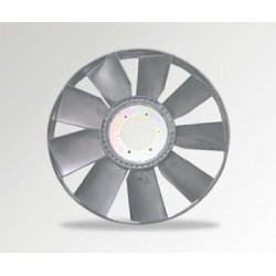 Вентилятор КАМАЗ-ЕВРО 704 мм с обечайкой и плоским диском в сборе (пр-во ТЕХНОТРОН)