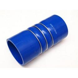 Патрубок КАМАЗ-4308 наддува интеркулера синий силикон (L=165мм,d=74) (пр-во КамАЗ)