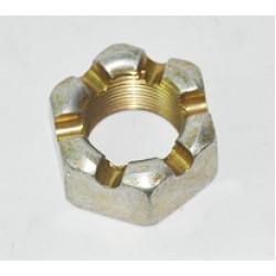 Гайка М24x1.5 КАМАЗ пальца рулевой тяги (корончатая) (пр-во БЕЛЗАН)