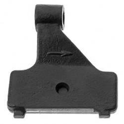 Кронштейн КАМАЗ амортизатора передний левый (пр-во КамАЗ)
