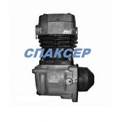 Компрессор КАМАЗ-ЕВРО (1 цилиндровый) 380 л/мин. (пр-во КамАЗ)