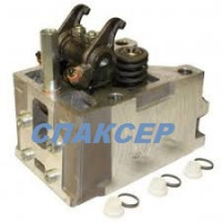 Головка блока с клапанами КАМАЗ-ЕВРО-4 (газовый двигатель) (пр-во КамАЗ)