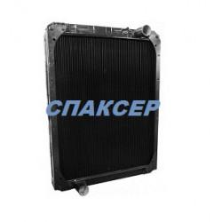 Радиатор водяной КАМАЗ-5297, НЕФАЗ-5299 медный (3-х рядный) (пр-во ШААЗ)
