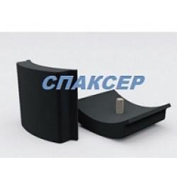 Подушка КАМАЗ-4308 рессоры задней дополнительной (пр-во Ростар)