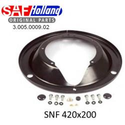 Пыльник тормозного барабана RLSM/RSM/RZM/RZT/WRZM (пр-во SAF)