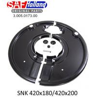 Пыльник тормозного барабана SAF ось SKRS-9042 (пр-во SAF)