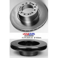 Тормозной диск прицепа SKRB 9022 (пр-во SAF)