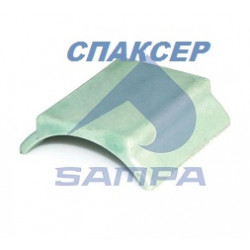 Подушка опоры лап седла GEORG FISCHER (GF) вкладыш (пр-во SAMPA)