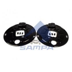Пыльник BPW-ECO барабана тормозного на ось (пр-во SAMPA)