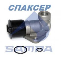 Клапан быстрого растормаживания КАМАЗ (кнопка) (пр-во SAMPA)