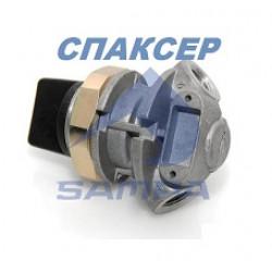 Многопозиционный клапан 3/2 контурный КАМАЗ, МАЗ, MERCEDES (магистральный) (пр-во SAMPA)