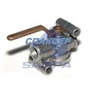 Тормозной клапан MERCEDES, MAN, DAF стояночный тормоз (10 Бар) M22x1.5 (пр-во SAMPA)
