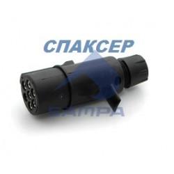 Вилка адаптер электрическая прицепа SCHMITZ (штeкe) 24 V (пр-во SAMPA)
