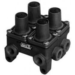 Защитный клапан 4-х контурный (пр-во Wabco)